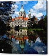 Hanover Germany Catus 1 No. 1 H B Acrylic Print