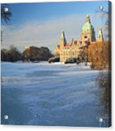 Hanover In Winter Acrylic Print
