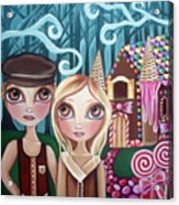 Hansel And Gretel Acrylic Print