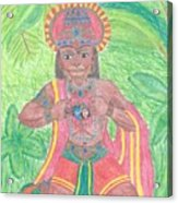 The Bhakta Acrylic Print