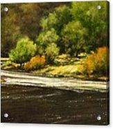 Lewis River Lagoon Acrylic Print