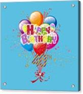 Happy 40th Birthday Acrylic Print