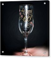 Happy 60th Birthday Acrylic Print
