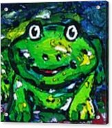 Happy As A Frog Acrylic Print
