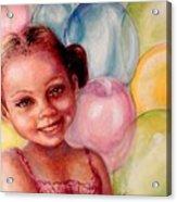 Happy Balloons Acrylic Print