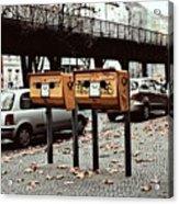 Happy Berlin Mailbox Acrylic Print