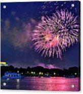 Happy Birthday America # 2 Acrylic Print
