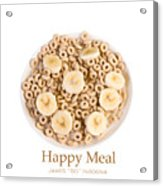Happy Breakfast Fine Art Poster Acrylic Print