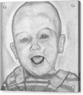 Happy Child Acrylic Print