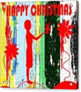 Happy Christmas 14 Acrylic Print