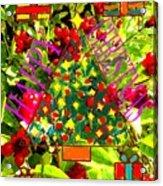 Happy Christmas 25 Acrylic Print
