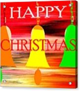 Happy Christmas 27 Acrylic Print by Patrick J Murphy