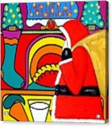 Happy Christmas 30 Acrylic Print