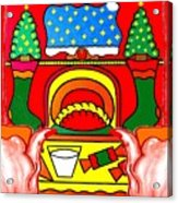 Happy Christmas 17 Acrylic Print