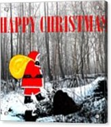 Happy Christmas 60 Acrylic Print