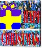 Happy Christmas 88 Acrylic Print