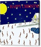 Happy Christmas 27 Acrylic Print