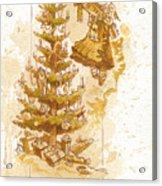 Happy Christmas Acrylic Print by Brian Kesinger