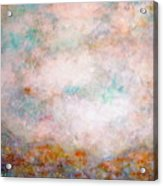 Happy Dancing Clouds Acrylic Print
