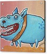 Happy Dawg Acrylic Print