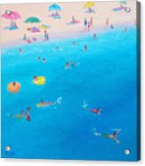 Happy Days At The Seaside Acrylic Print