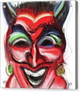 Happy Devil Acrylic Print