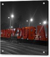 Happy Dubai Acrylic Print