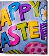 Happy Easter Acrylic Print