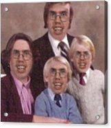 Happy Family Acrylic Print