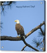 Happy Father's Day Acrylic Print