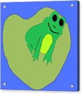 Happy Frog Acrylic Print