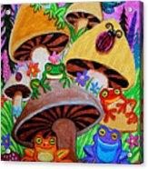 Happy Frog Valley Acrylic Print