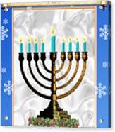 Happy Hanukkah Acrylic Print
