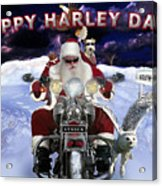 Happy Harley Days Acrylic Print