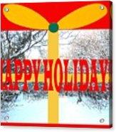 Happy Holidays 21 Acrylic Print