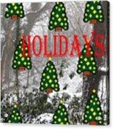 Happy Holidays 29 Acrylic Print