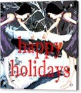 Happy Holidays 30 Acrylic Print