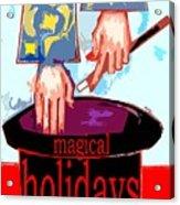 Happy Holidays 41 Acrylic Print