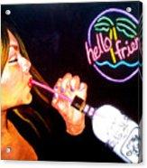 Happy Hour Acrylic Print