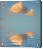 Happy Little Cloud Acrylic Print