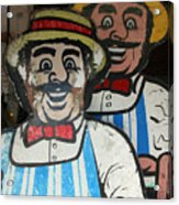 happy meat Makers Acrylic Print