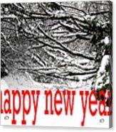 Happy New Year 33 Acrylic Print