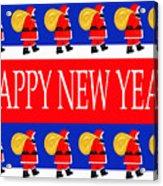 Happy New Year 7 Acrylic Print