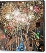Happy New Year From Walt Disney World Acrylic Print