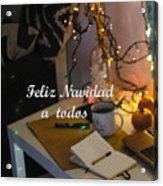 Happy New Year Holidays Acrylic Print