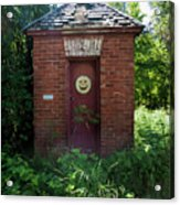 Happy Outhouse Acrylic Print