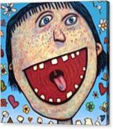 Happy Pill Acrylic Print