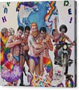 Happy Pride Acrylic Print