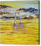 Happy Sailing Acrylic Print