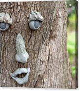 Happy Tree Acrylic Print